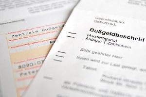 Es ist wichtig, dass Sie nach Erhalt den Bußgeldbescheid auf Fehler prüfen.