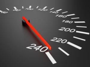 Geschwindigkeitsüberschreitungen sind kein Kavaliersdelikt.
