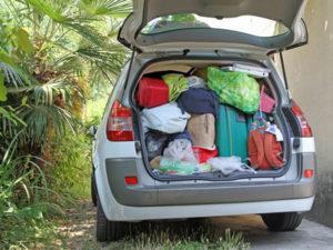 Die Ladungssicherung soll gewährleisten, dass im Auto nichts verrutscht.