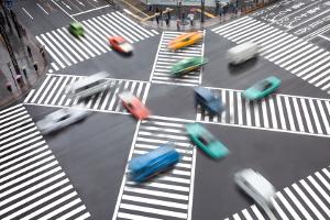 3 Punkte im Verkehr sind maximal bei einem Verstoß möglich.